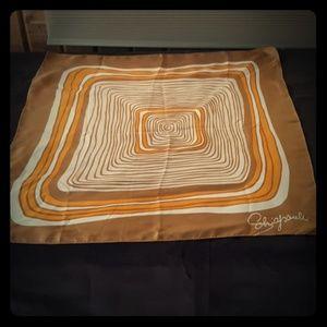 Beyond cool! Vintage 1960s schiaparelli silk scarf